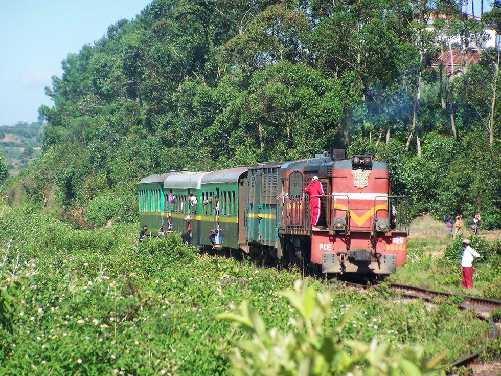 Train en chemin