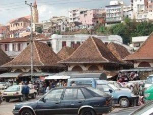 Le marché du Zoma vers 1900