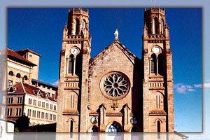 La cathédrale de l'Immaculée-Conception d'Andohalo