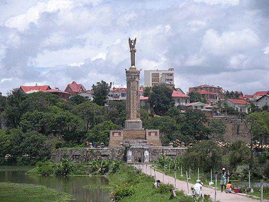 Antananarivo - les places historiques - Madagascar Island
