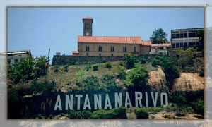 La ville d'Antananarivo