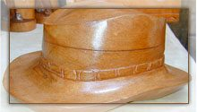 Chapeau en Cuir