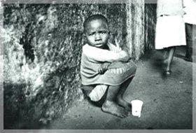 Les enfants de la rue et son travail quotidien
