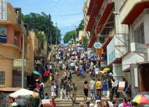 L'escalier Ranavalona Ière