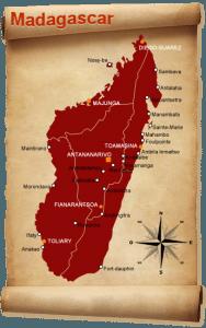 Cartographie de Madagascar