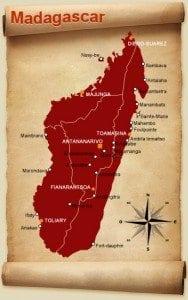 Madagascar ile rouge