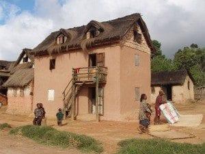 Maison rurale Malgache