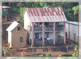 Enclos familials Malgaches