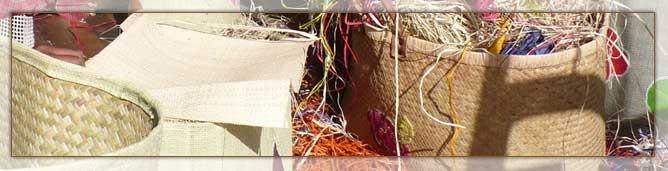 Matériaux de Vannerie à Madagascar