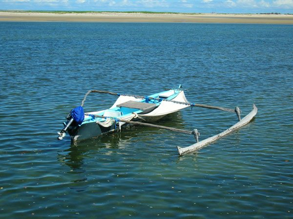 Pirogue de Belo sur Mer