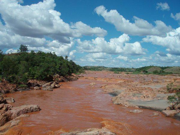 Les rapides de la Betsiboka