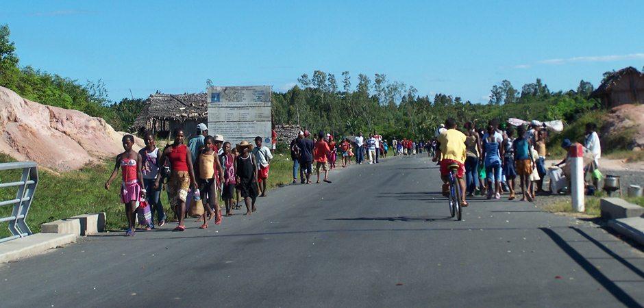 Au nord de Tamatave