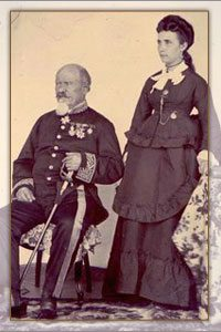 Jean Laborde et sa femme