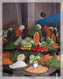 Antsirabe - Les légumes frais