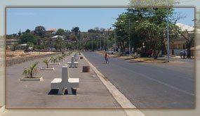 Le Boulevard de la Corniche, un lieu de prédilection des Majunga