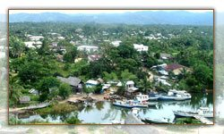 La ville de Mananara - Nord