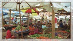 Le marché de Moramanga