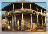 Maison typique de Marovoay