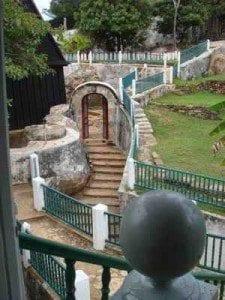 Une des Sept Portes d'Ambohimanga