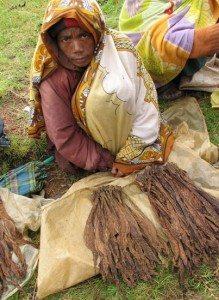 Vente de tabac à Ambositra