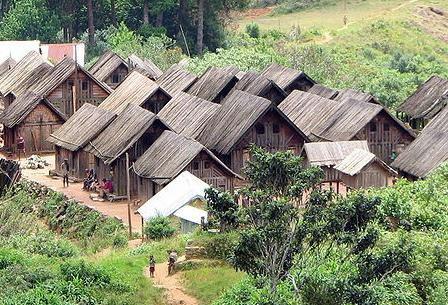 Un village Zafimaniry
