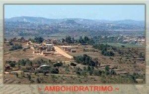 La colline d'Ambohidratrimo